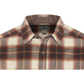 Royal Robbins Merinolux Flannel LS Shirt Herren red rock
